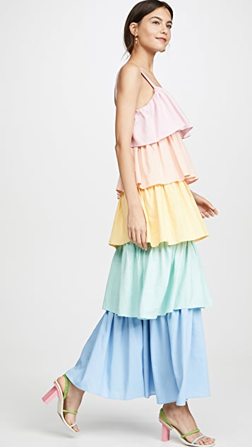 Olivia Rubin Rainbow Mimi Dress