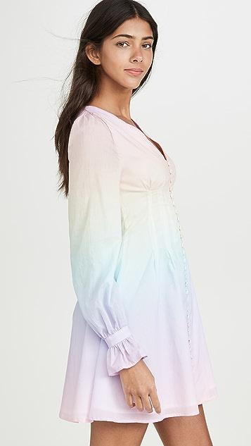Olivia Rubin Plum Dress