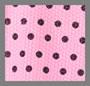 粉色圆点花纹