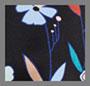 复古簇团花卉图案