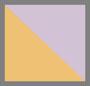 Lilac Mustard Stripe