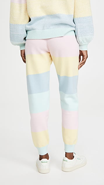Olivia Rubin Tilda 针织慢跑长裤