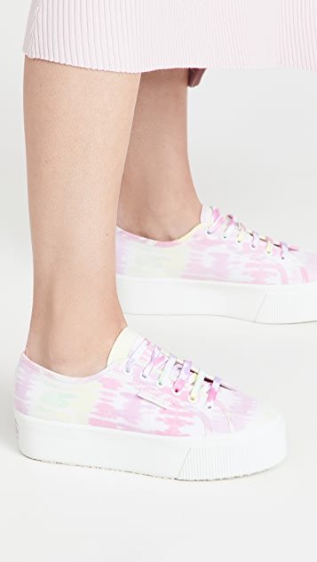 Olivia Rubin x Superga 厚底运动鞋