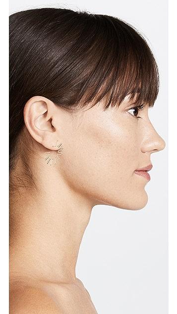 ONE SIX FIVE Jewelry Sunshine Hoop Earrings