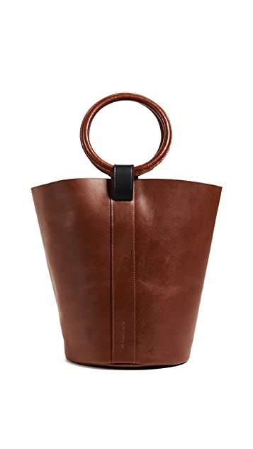 OTAAT/MYERS Collective Small Round Bucket Tote Bag