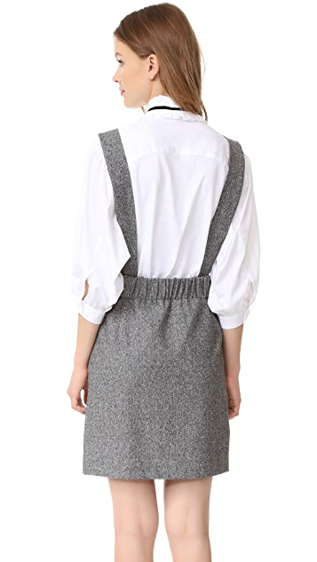 Otto d'ame Prudenza Pinafore Dress