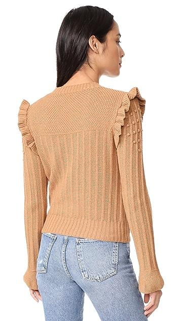 Otto d'ame Maglia Ruffle Sweater