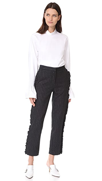 Otto d'ame Valley Pinstripe Trousers