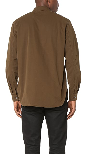 Our Legacy Twill Shawl Zip Shirt