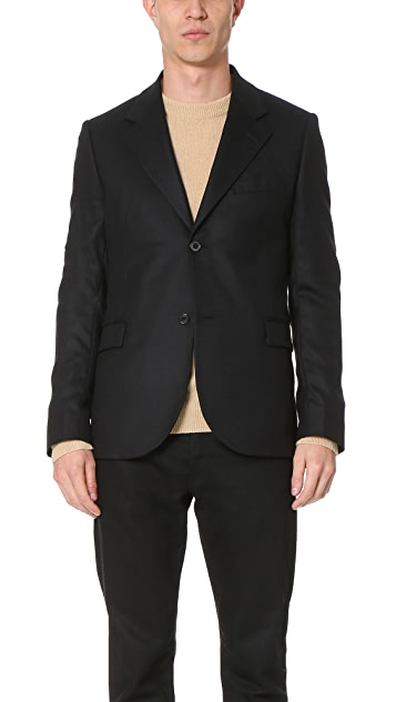 Our Legacy Pressed Wool Control Blazer