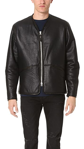 Our Legacy Leather Liner Jacket