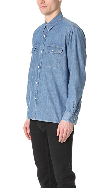 Our Legacy Washed Denim Shirt