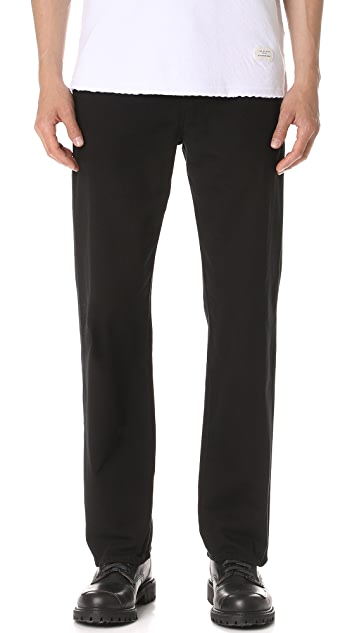 Our Legacy Denim Chino Over Dye Black Jeans
