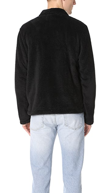Our Legacy Fleece Funnel Blouson Jacket