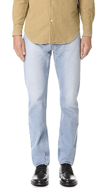 Our Legacy First Cut Washed Denim Jeans