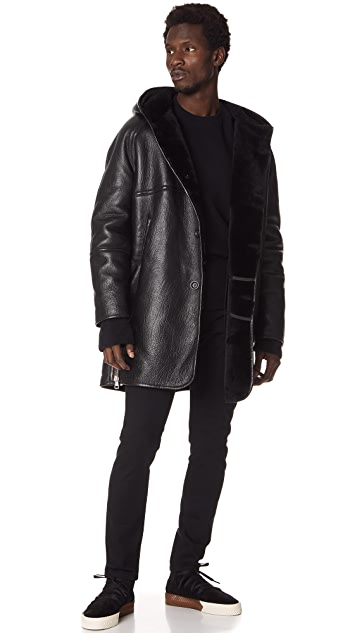 Our Legacy Shearling Parka