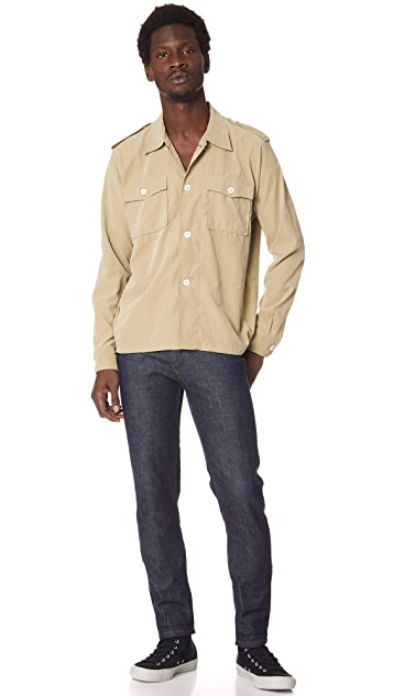 Our Legacy Casual Military Shirt
