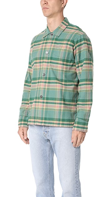 Our Legacy Check Flannel Shirt