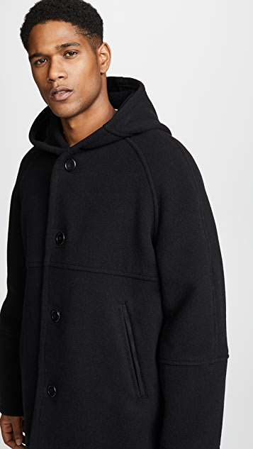 Our Legacy Felt Duffle Coat