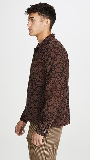 Our Legacy P.X. Evening Shirt Swirl Print