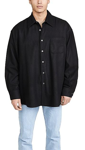 Our Legacy Borrowed Shirt Wool