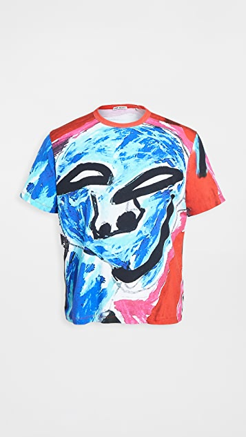 Our Legacy New Box Face Print T-Shirt