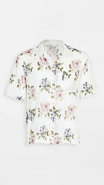 Our Legacy Floral Box Short Sleeve Shirt
