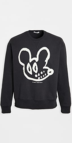 Our Legacy - Rat Print Crew Neck Sweatshirt