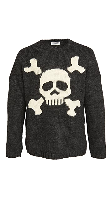 Our Legacy Jolly Roger Crew Neck Sweater