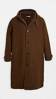 Our Legacy Wool Hooded Duffel Coat