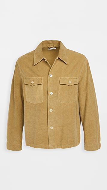 Our Legacy Brushed Cotton Evening Coach Jacket