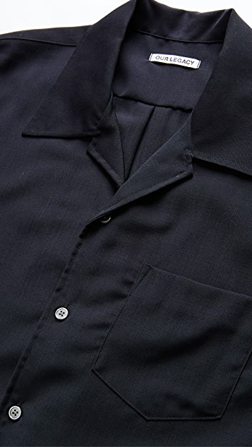 Our Legacy Tech Wool Loco Shirt