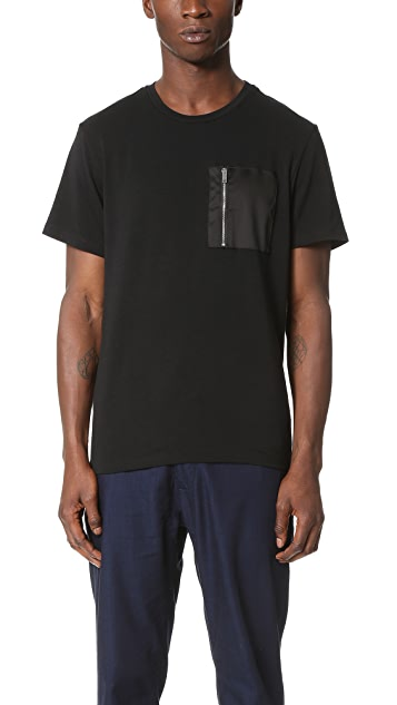 Ovadia & Sons Zip Pocket Tee
