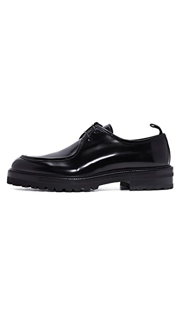 Ovadia & Sons 2 Eyelet Lace Up Oxfords