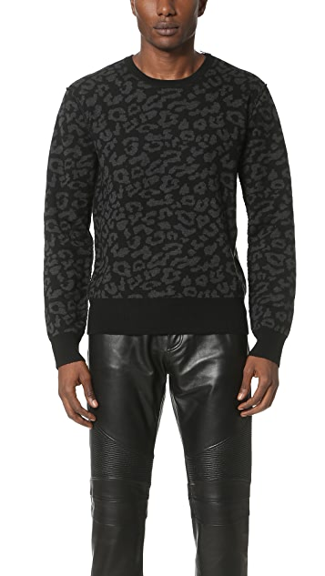 Ovadia & Sons Leopard Sweater