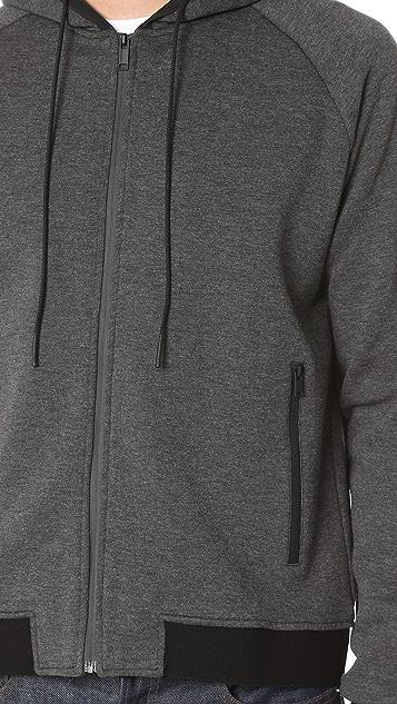 Ovadia & Sons Ovadia + Vapor Zip Hoodie