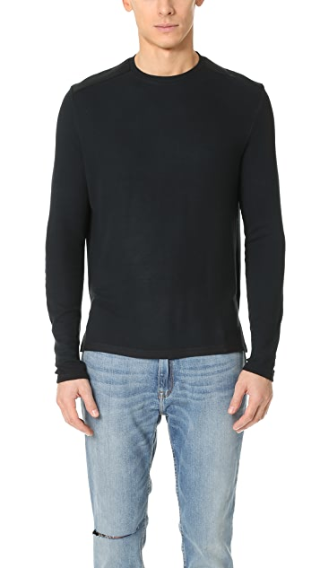 Ovadia & Sons Thermal Patch Long Sleeve Tee