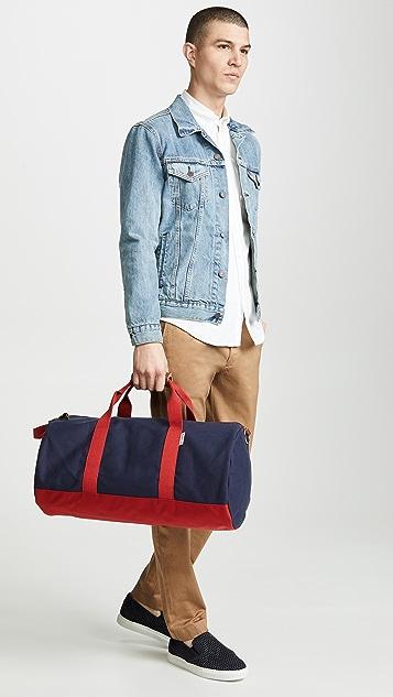Boarding Pass Work Hard Play Hard Duffle Bag