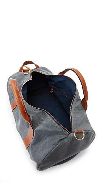 Boarding Pass Voyager Waxed Canvas Weekender