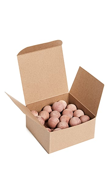 Boarding Pass Box O' Cedar Balls