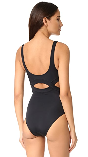 OYE Swimwear Elvan Cutout One Piece