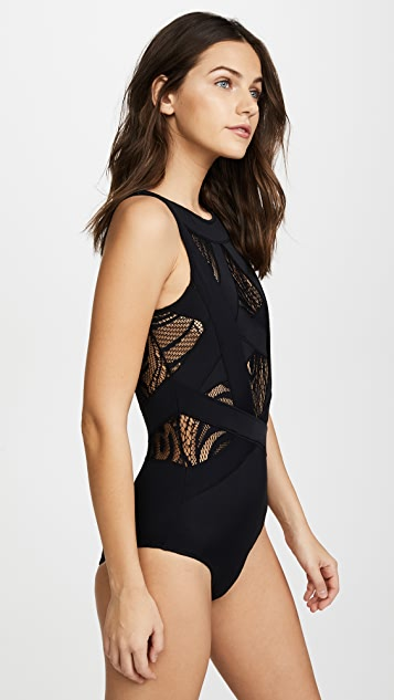 OYE Swimwear Esther Lace One Piece