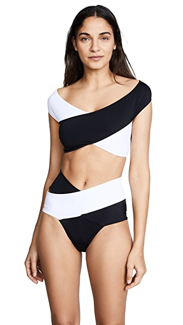 OYE Swimwear Lucette Colorblock Bikini