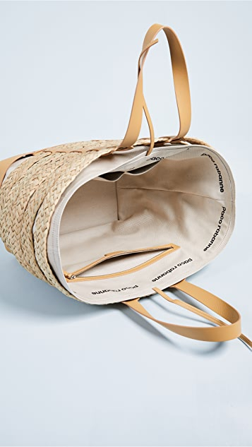 Paco Rabanne Cage East / West Tote