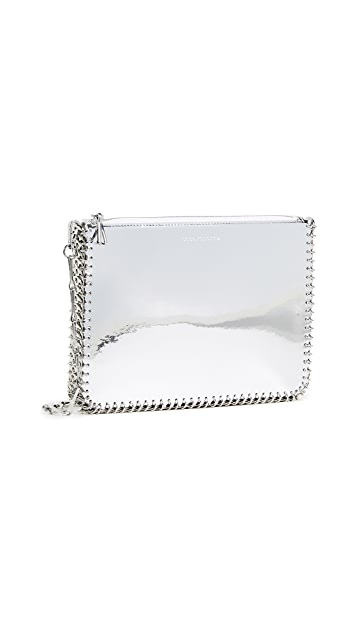 Paco Rabanne Patent Leather Crossbody Bag