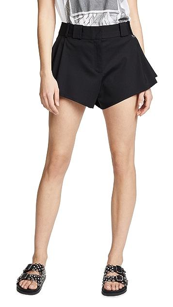 Paco Rabanne Buckle Waist Shorts