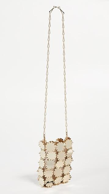 Paco Rabanne Миниатюрная сумка через плечо Blossom Flower