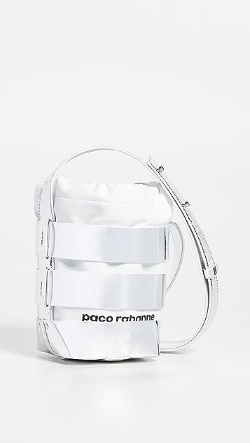 Paco Rabanne Миниатюрная сумка-хобо