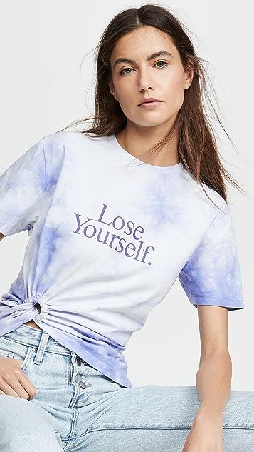 Paco Rabanne T-shirts Tie Dye T-Shirt