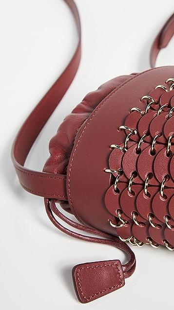 Paco Rabanne Mini Iconic Bucket Bag